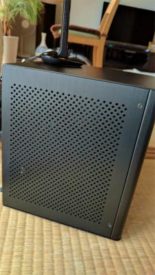 自作PC ゲームも可能なコンパクトリビングPC A10-5800K/GTX750Ti/総アルミMonoBox2/WiFiBlueTooth標準装備_画像9