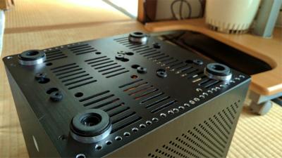 自作PC ゲームも可能なコンパクトリビングPC A10-5800K/GTX750Ti/総アルミMonoBox2/WiFiBlueTooth標準装備_画像7