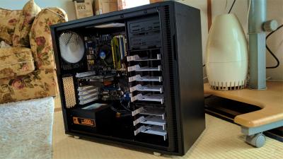 自作PC ゲームも可能な本格PC i3-2100/GTX750Ti/FractalDesign R5