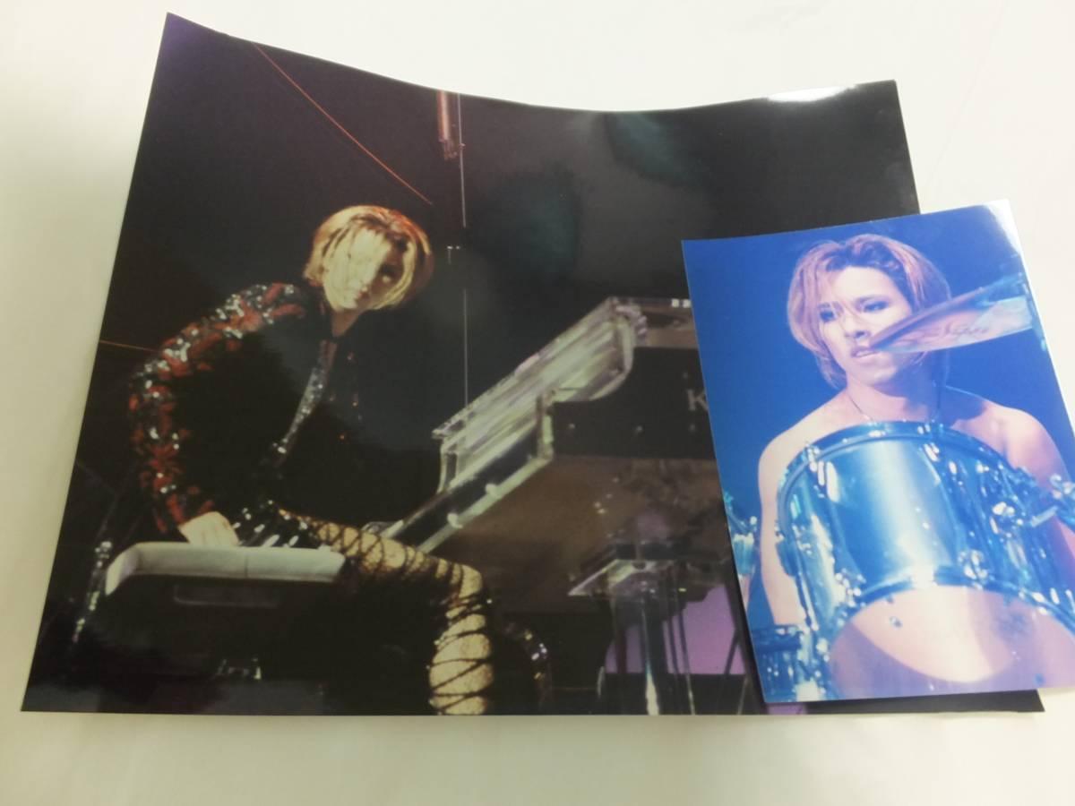 YOSHIKIの写真、XJAPAN限定写真集(シリアルナンバー付き)即決落札の場合は、ネガフィルム付き。