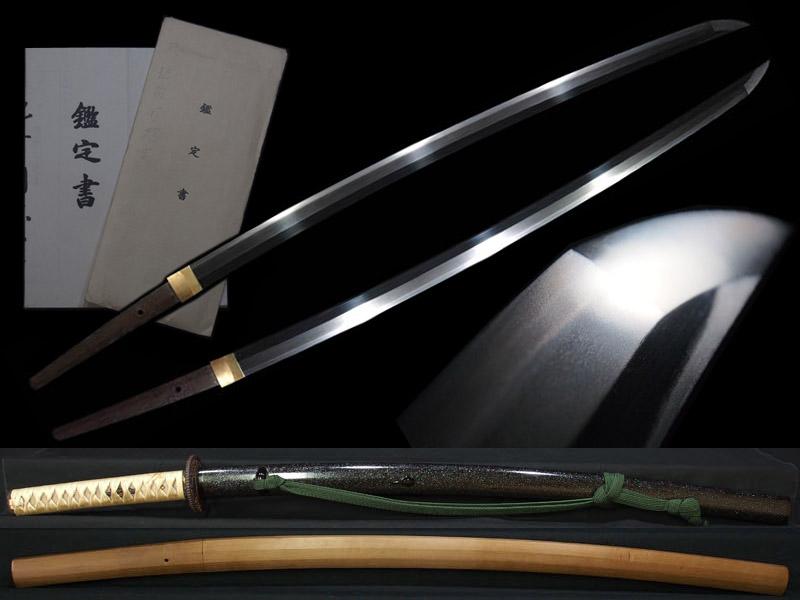 【忠吉】肥前国忠吉 極めて美しく堂々たる太刀姿 上級者好みの素晴らしい直刃! 拵と