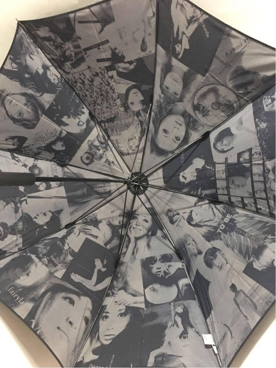 浜崎あゆみ TeamAyu限定商品 シングルコレクション発売記念Umbrella シリアル番号入り オリジナル傘専用箱付き 0687 新品未使用