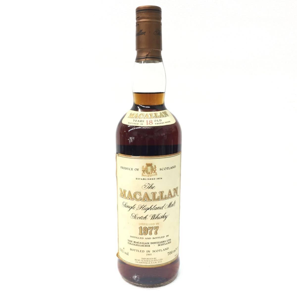 希少年号 マッカラン 1977 18年