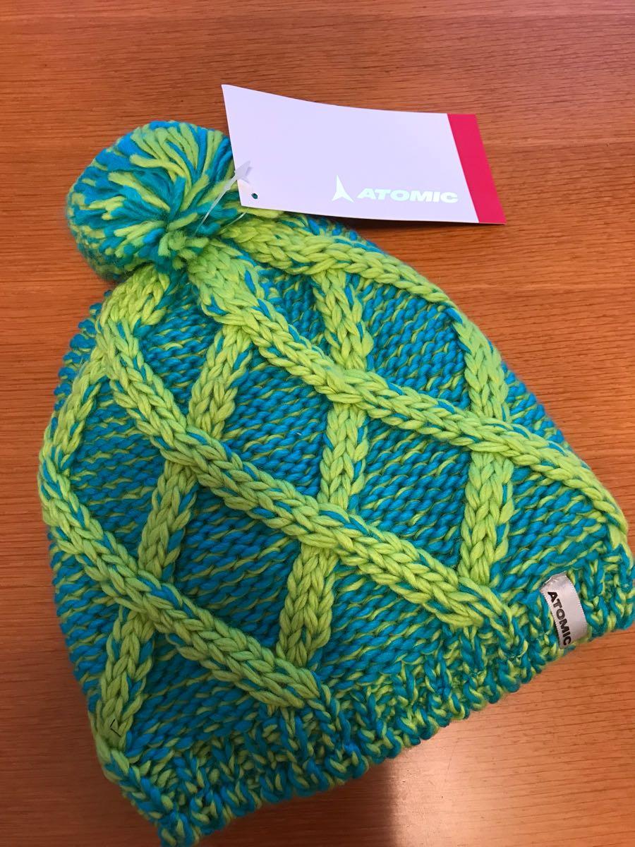 new goods ATOMIC atomic knitted cap!W Alps pon Beanie! ski snowboard hat!ALPS  POM BEANIE f2185b8de5f