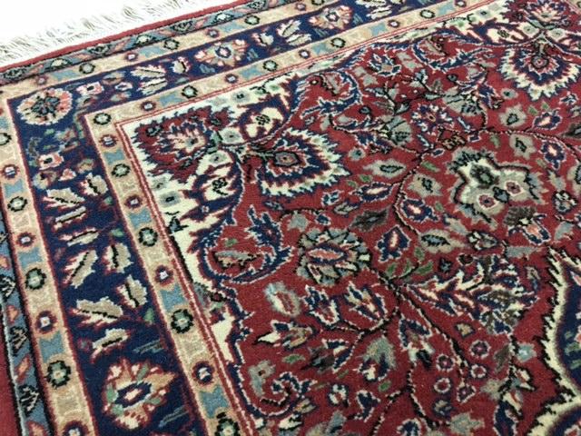 お部屋が1枚でエレガントに!1枚最高のトルコ絨毯は如何?手織りウールラディック絨毯厚みもある素晴らしいマルコポーロも絶賛の絨毯です_画像7
