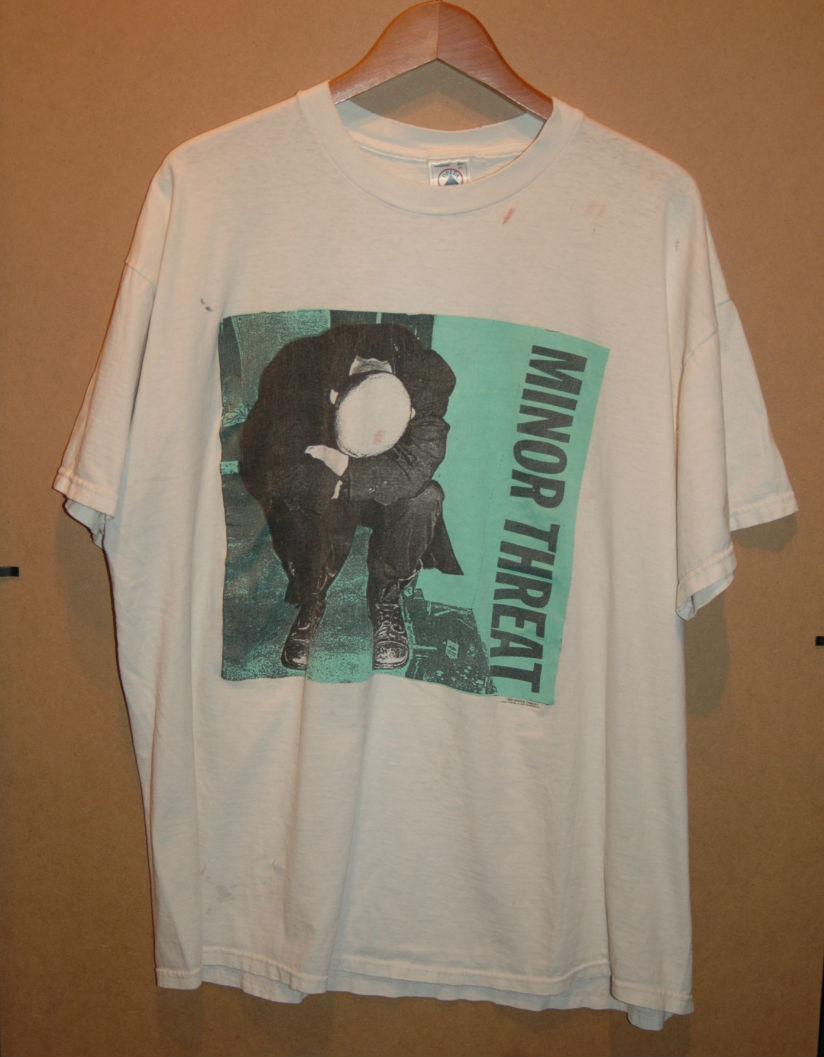 ユーズド 90年代 MINOR THREAT マイナー スレット Tシャツ