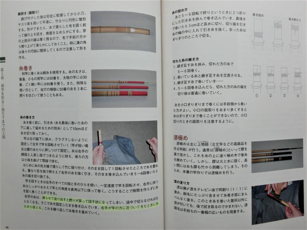 本 書籍 つり  寿晴の実践・和竿作り ジャンク_画像9