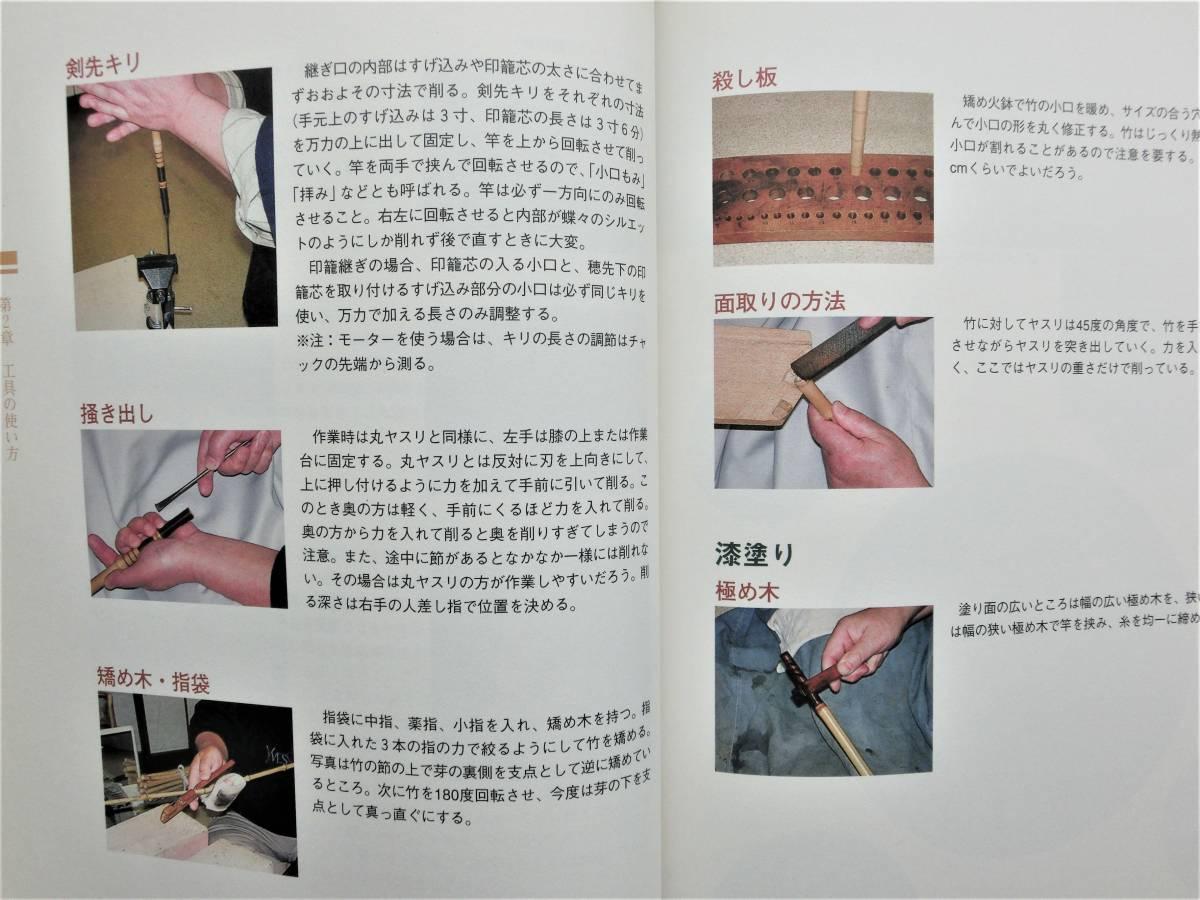 本 書籍 つり  寿晴の実践・和竿作り ジャンク_画像4