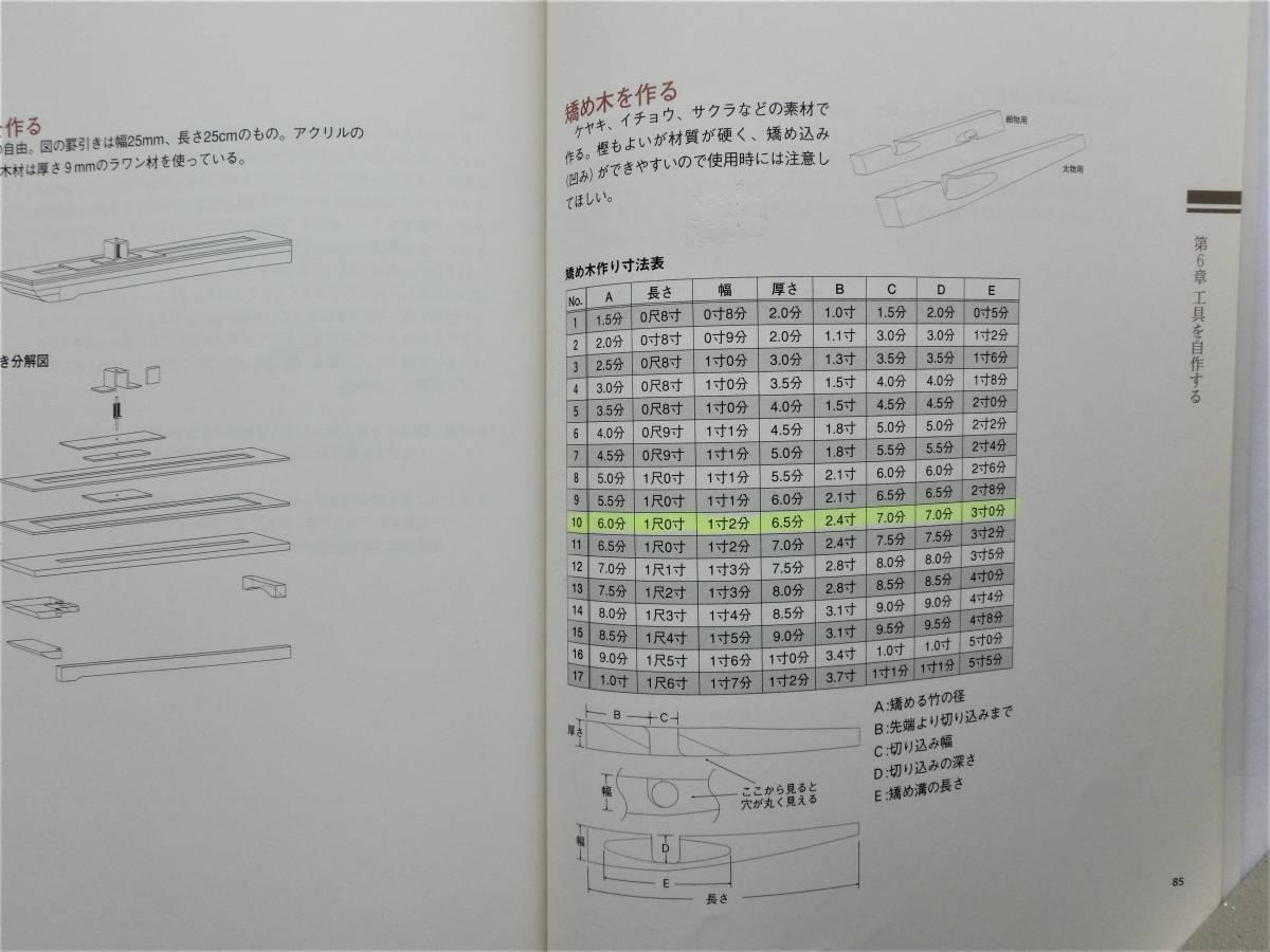 本 書籍 つり  寿晴の実践・和竿作り ジャンク_画像10