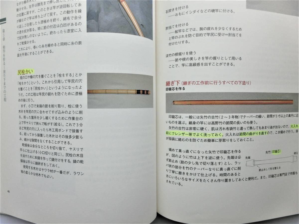 本 書籍 つり  寿晴の実践・和竿作り ジャンク_画像7