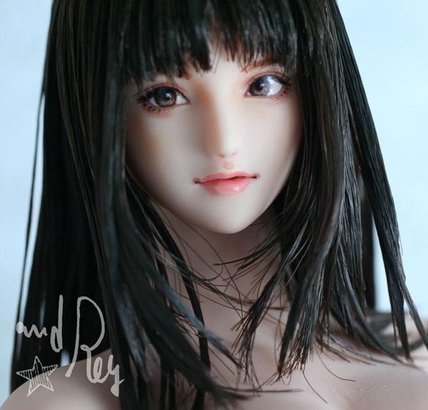★and Rey★1/6カスタムドールヘッド「真里奈」_画像7