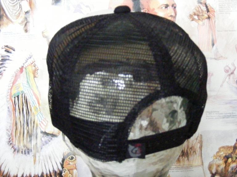 新品  帽子 梵字メッシュキャップ  千手観世音菩薩 子  野球帽 男女兼用  CAP #2 釣り登山_画像4