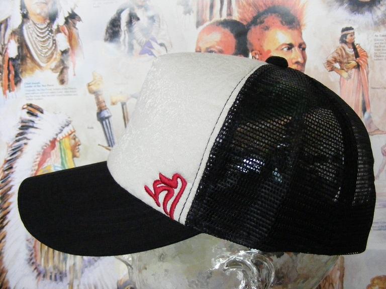新品  帽子 梵字メッシュキャップ  千手観世音菩薩 子  野球帽 男女兼用  CAP #2 釣り登山_画像2
