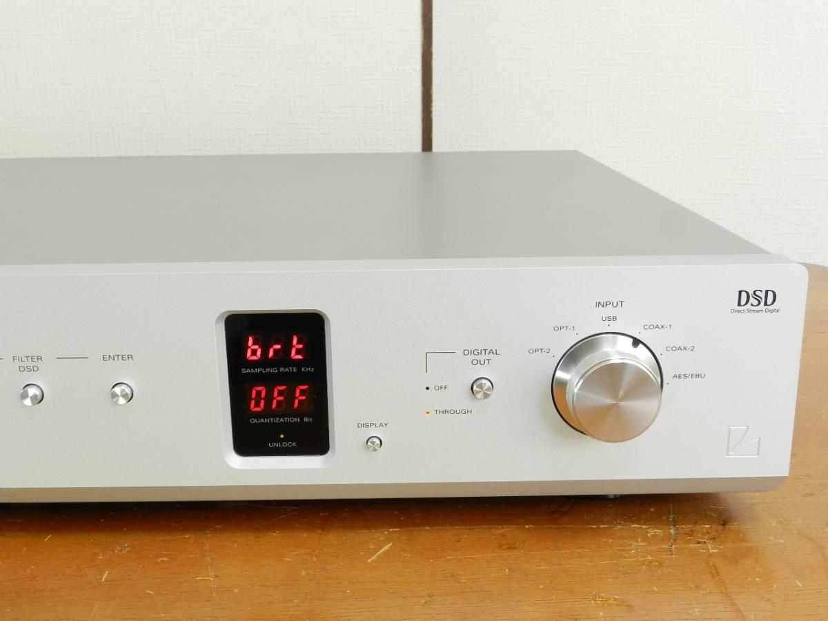 LUXMAN/DA-06 ハイレゾリューションD/Aコンバーター/PCM 384kHz/32bit.DSD 5.64MHz対応/美品//発売価格¥324.000_画像3