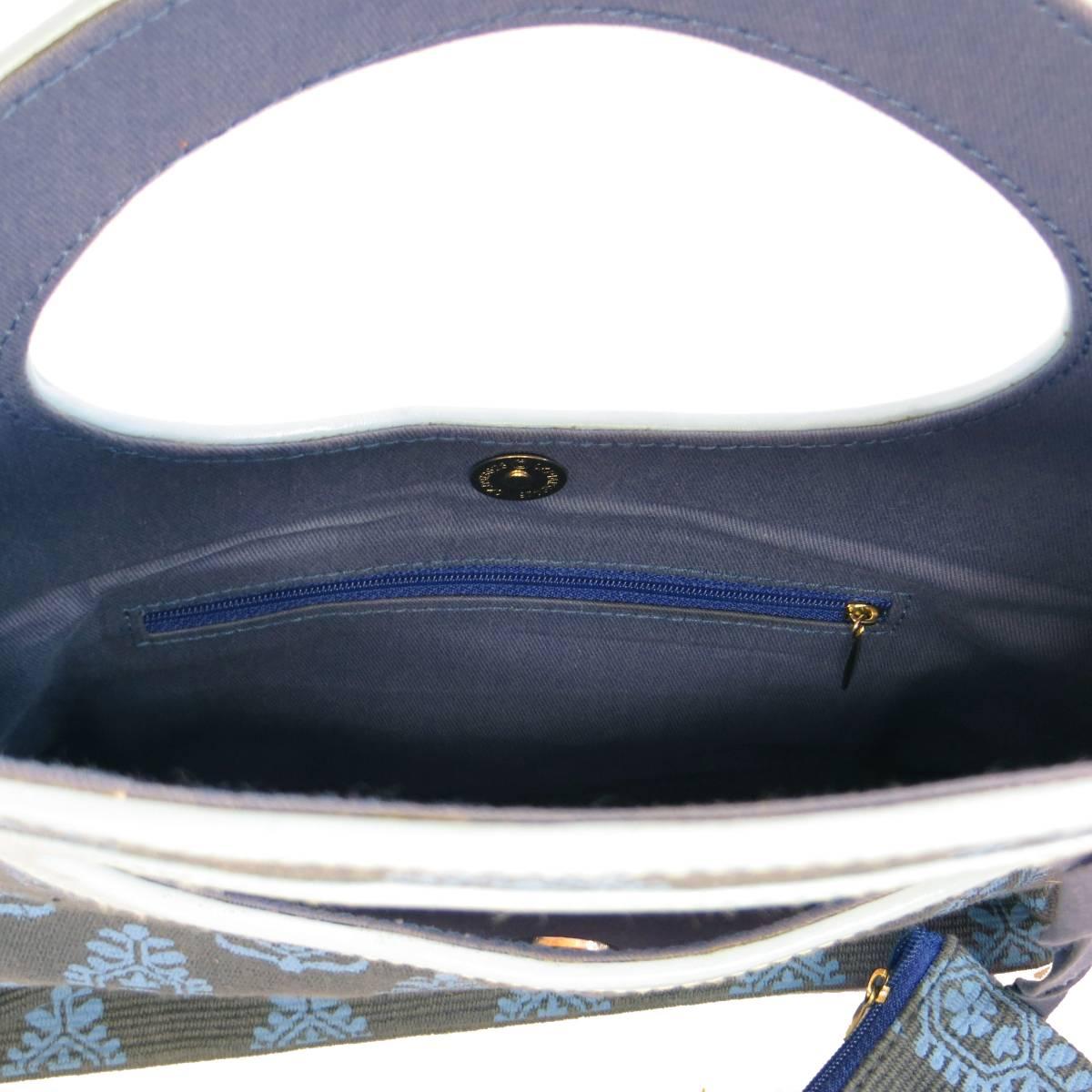 バッグ レディース 新品 本革 牛革とジュート製 エスニックプリント 海外 ブランド 送料無料 (621)_画像6