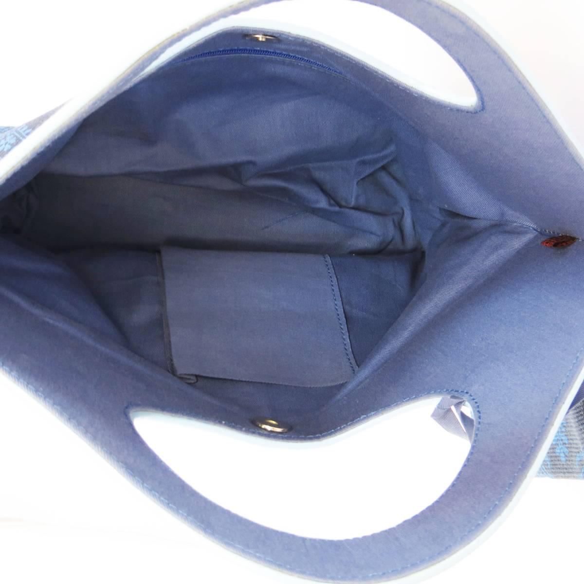 バッグ レディース 新品 本革 牛革とジュート製 エスニックプリント 海外 ブランド 送料無料 (621)_画像8