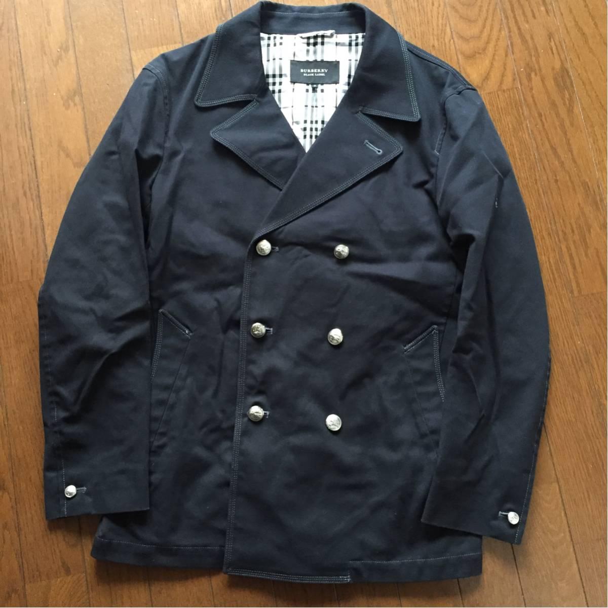 06c4c418f1ed98 バーバリーブラックレーベル pコートの値段と価格推移は?|10件の売買 ...