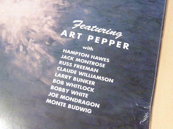 アート・ペッパーSurf Ride未開封LPアナログレコードArt Pepper Russ Freeman Claude Williamson Hampton Hawes Brown Gold US Savoy_画像3