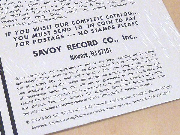 アート・ペッパーSurf Ride未開封LPアナログレコードArt Pepper Russ Freeman Claude Williamson Hampton Hawes Brown Gold US Savoy_画像4