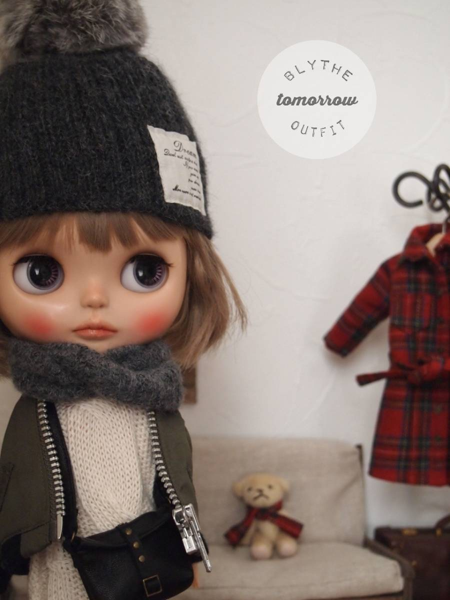 ◆tomorrow◆Blythe outfit ブライスアウトフィット◆着回し8点セット◆