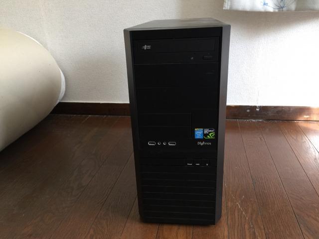 ドスパラ デスクトップPC SSD120GB HDD500GB Core i7 おまけつき