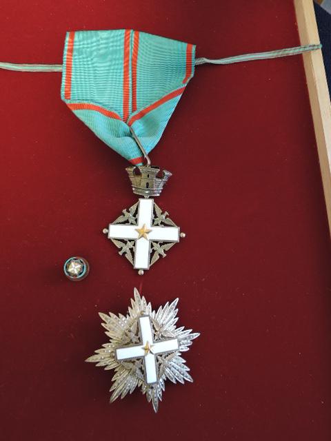 イタリア共和国 功労勲章 略章 ...
