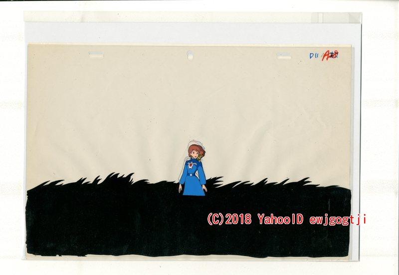 ジブリ 風の谷のナウシカ セル画 1 検 原画 動画 レイアウト イラスト 設定資料 アンティーク_画像1