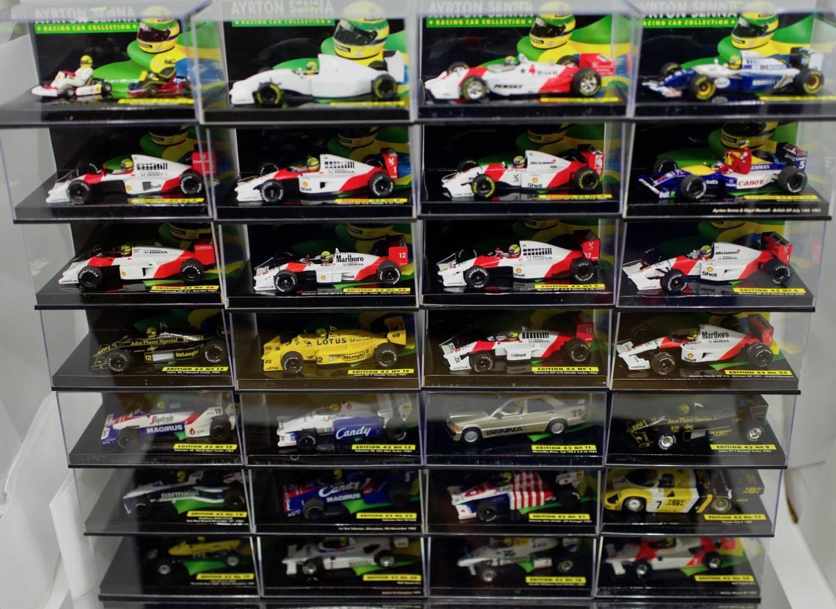 Ayrton SENNA 29 台セット ★★★★★ ・セナ・スーパー レア ミニチャンプス セナコレクション GW SALE