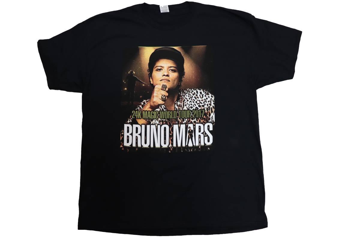 【送料無料希少レア】サイズ2XL NY Tour Bruno Mars Tee HipHop R&B Rap Soul ブルーノマーズ レコード ラップ ヒップホップ supreme kith