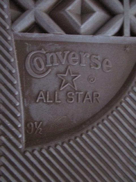 デッドストック オールスター 新品 CONVERSEコンバース USA製 ALL STAR スニーカー迷彩 28cm US9.5 カモフラージュ ハイカット アメリカ製_画像5