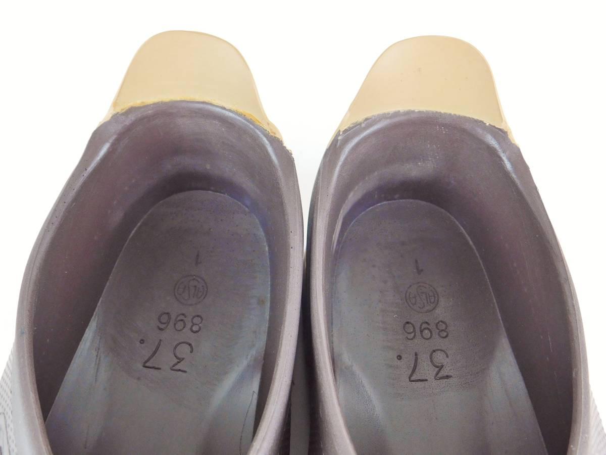正規品 Birki's ビルキー サンダル ラバーサンダル レディース メンズ ブラウン サイズ24cm 送料無料_画像7