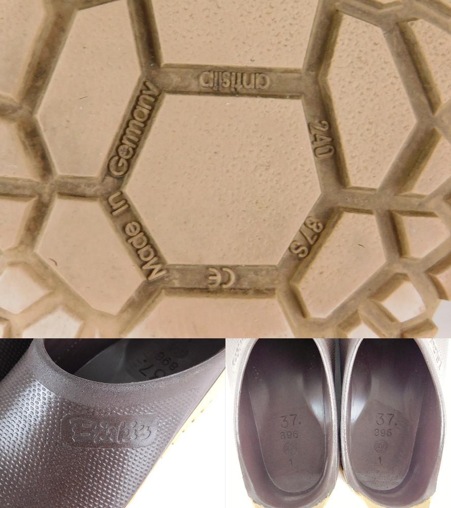 正規品 Birki's ビルキー サンダル ラバーサンダル レディース メンズ ブラウン サイズ24cm 送料無料_画像9