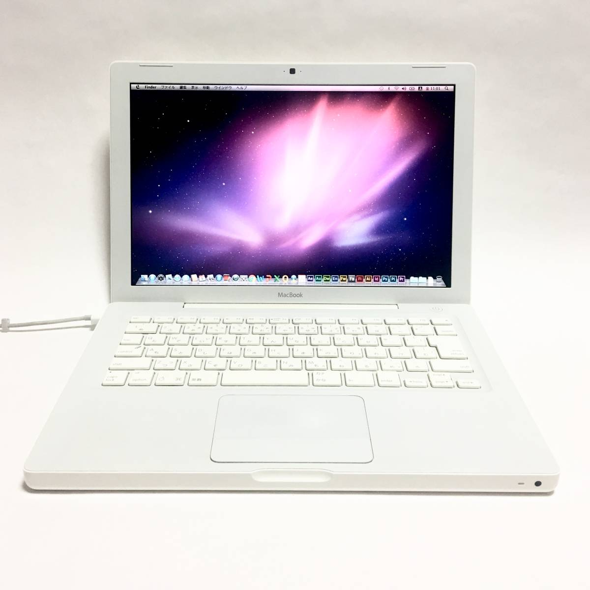 MacBook 2.1 Mid2007 / Mac OS X / Snow Leopard / C2D 2.16GHz / 4GB / 160GB / Adobe C