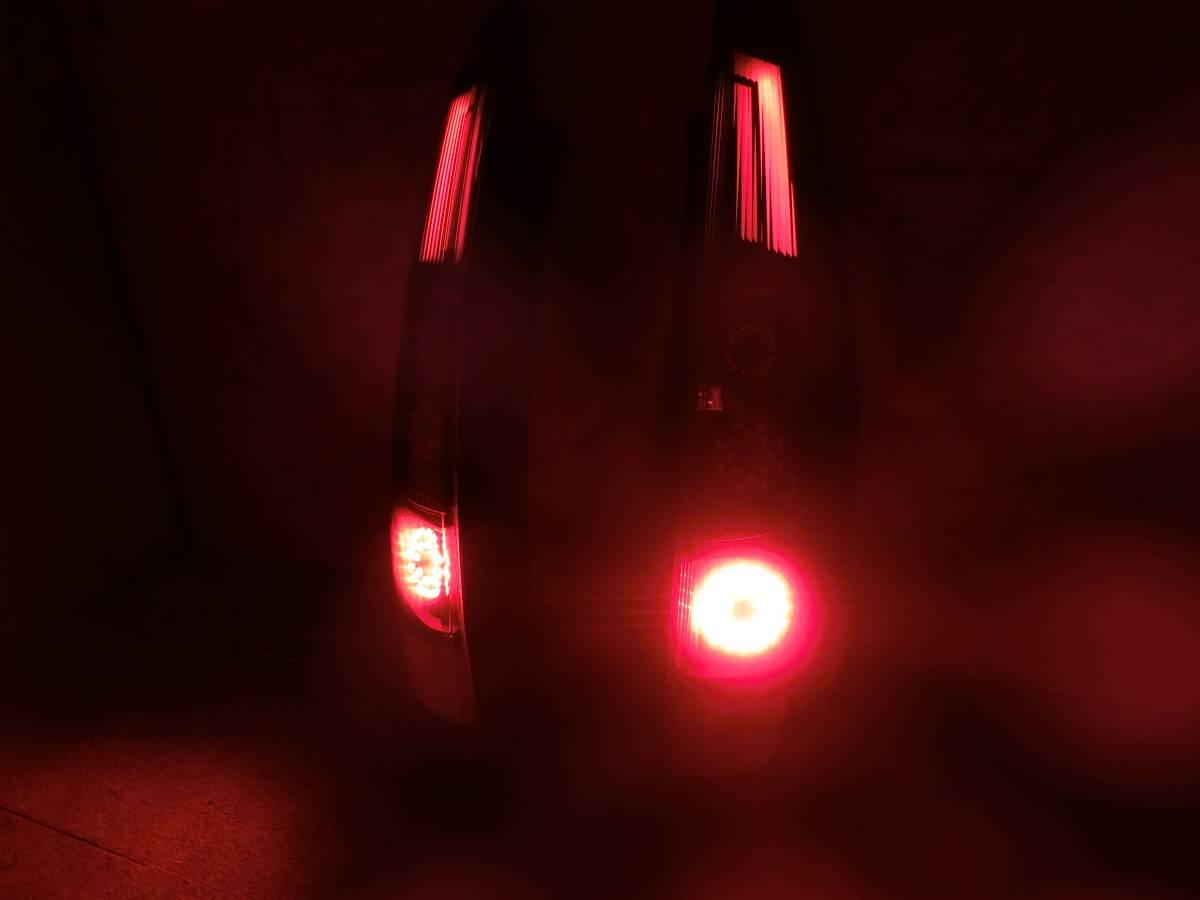 Z20系 ラリーアート コルト COLT 後期 フル LED テール 独創的アクリル発光!_画像4