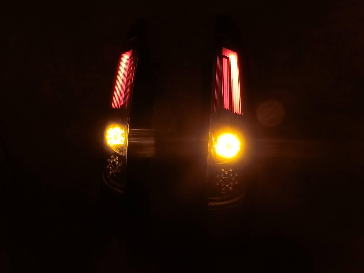 Z20系 ラリーアート コルト COLT 後期 フル LED テール 独創的アクリル発光!_画像5