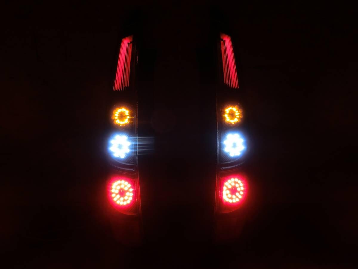 Z20系 ラリーアート コルト COLT 後期 フル LED テール 独創的アクリル発光!_画像7