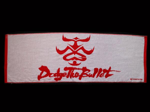 【B'z】TMG Dodge The Bullet Tour2004 コンサートタオル(白)・新品未使用