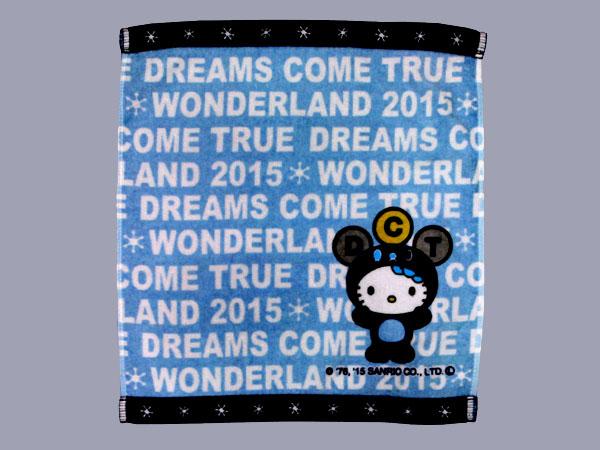 【DREAMS COME TRUE】ドリカム×キティ ハンドタオル(空)・新品未使用
