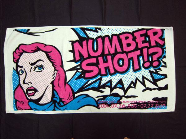 【NUMBER SHOT 2014】アメコミバスタオル 新品未使用