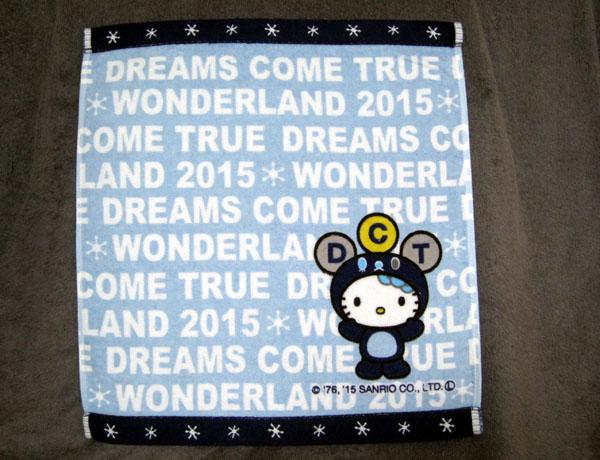 【DREAMS COME TRUE】ドリカム×キティ ハンドタオル・新品