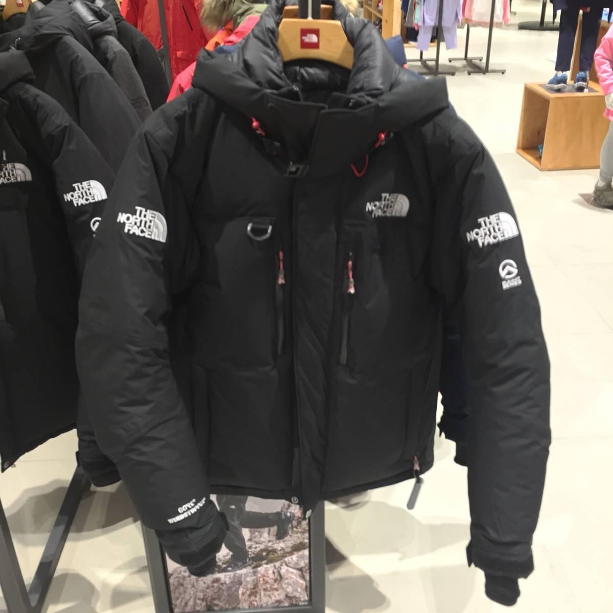 新品THE NORTH FACEザ・ノースフェイスHIMALAYAN ParkaSサイズ黒ブラックヒマラヤンパーカ最強に暖かいダウンジャケットメンズTNF