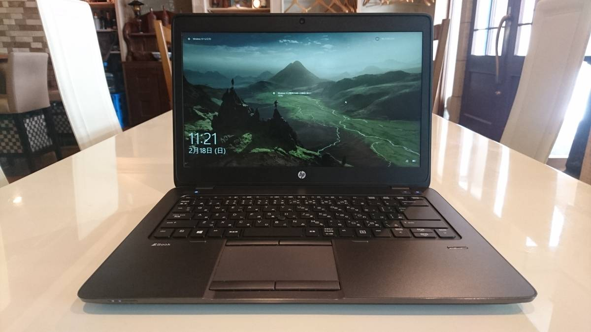 美品 高速SSD HP ZBook 14 Core i7-4600U 8G M.2 SSD240GB+HDD500GB AMD FirePro M4100 office2016