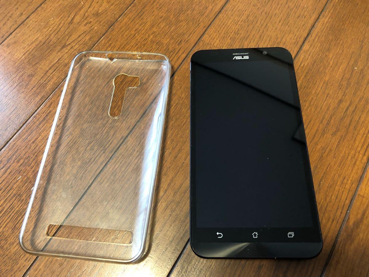 【美品】ASUS SIMフリー スマートフォン ZenFone Go ブルー 中古_画像4