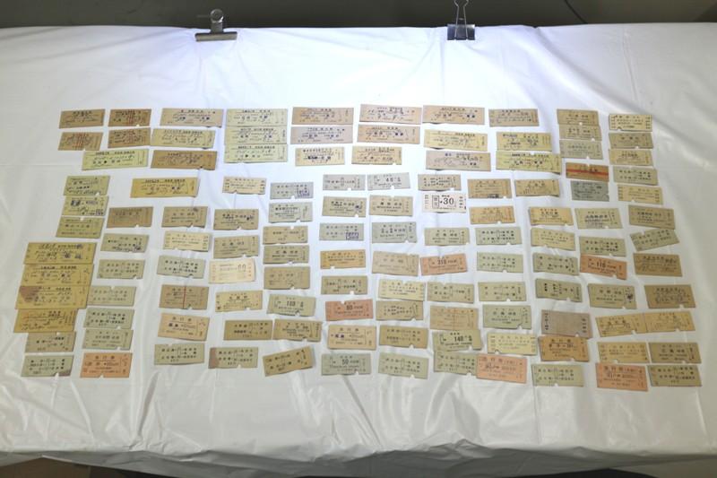 BR82◆古い乗車券たくさんまとめて◆広島 切符 寝台列車 特急 私鉄 国鉄 昭和レトロ