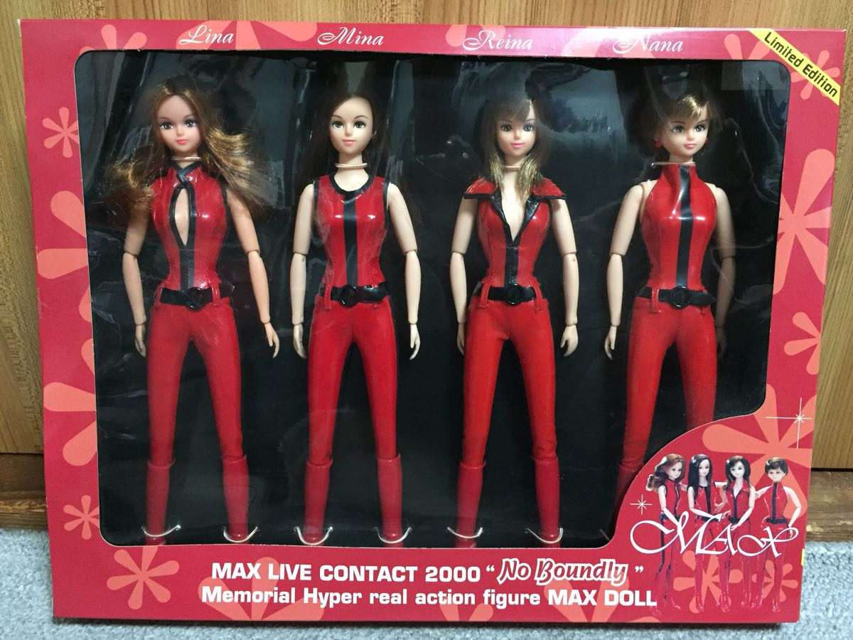 マックス MAX LIVE CONTACT 2000 ~No boundly~ MAXドール マックス