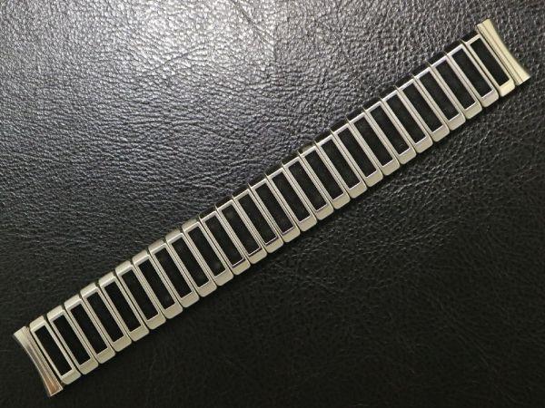 (17.3㎜ シルバー 弓かん) デッドストック 1960's USA製 JB CHAMPION チャンピオン SS エクスパンション バンド ビンテージ 腕時計 ベルト_画像2