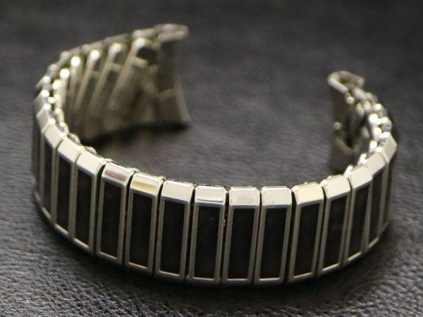 (17.3㎜ シルバー 弓かん) デッドストック 1960's USA製 JB CHAMPION チャンピオン SS エクスパンション バンド ビンテージ 腕時計 ベルト_画像7