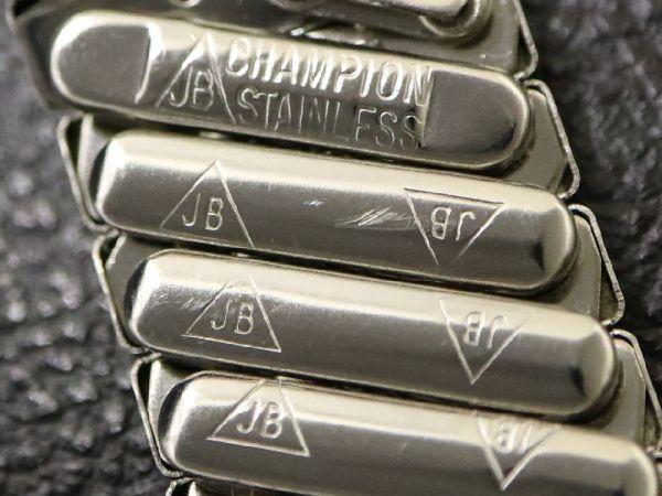 (17.3㎜ シルバー 弓かん) デッドストック 1960's USA製 JB CHAMPION チャンピオン SS エクスパンション バンド ビンテージ 腕時計 ベルト_画像6