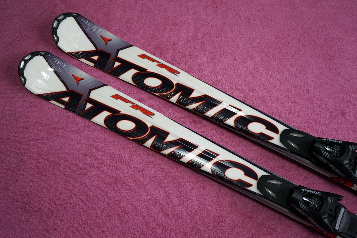 ◇アトミックFRプラス159㎝ 軽量スキーです。1円スタート売り切り