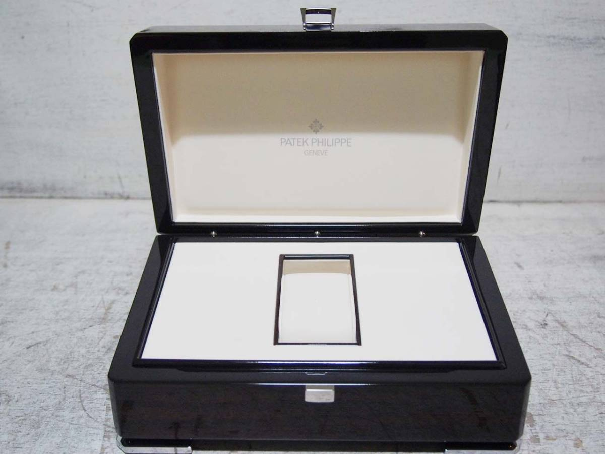 0304-08★良品 PATEK PHILIPPE GENEVE / パテックフィリップ 腕時計ケース ウォッチケース 空箱 箱入り_画像4